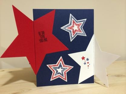 Stars Card - Open