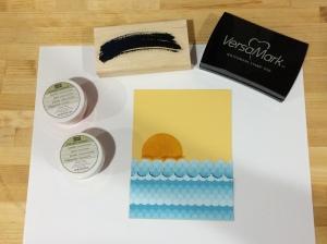 Sunset Card 4
