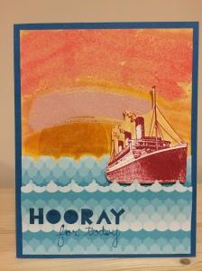 Sunset Card 6