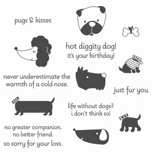 Hot Diggity Dog Stamp Set