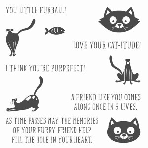 You Little Furball Stamp Set